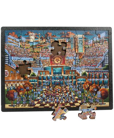Texas A&M Kyle Field 60 Piece Puzzle - Front Multi