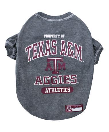 Texas A&M Aggies Pet Tee - Back MULTI