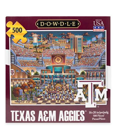 Texas A&M Kyle Field 500 Piece Cardboard Puzzle