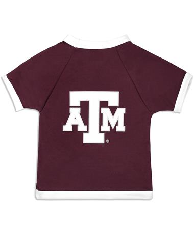 Texas A&M Dog Mesh Jersey - Back Maroon