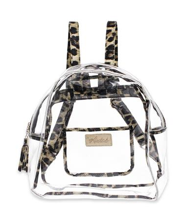 Texas A&M Klear Leopard Backpack - Front LEOPARD