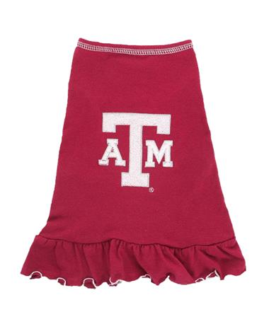 Texas A&M Aggie Dog Cheerleader Dress Maroon