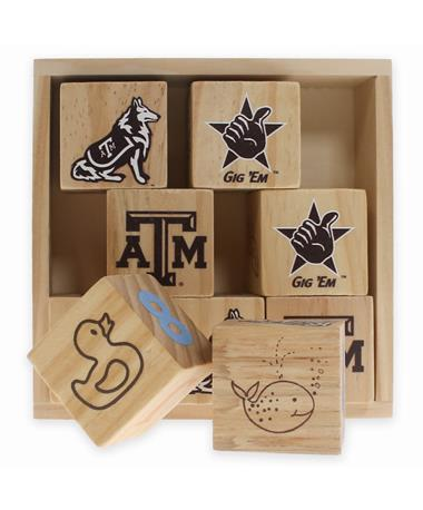 Texas A&M Wooden Block Set