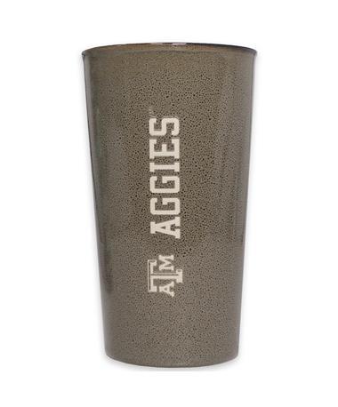 Texas A&M Aggies Ceramic Tumbler - Front REACTUVE GREY