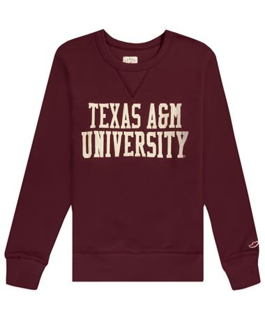 Texas A&M League Stadium Crewneck