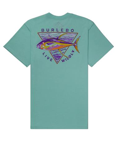 BURLEBO Live Wildly Pocket Tee