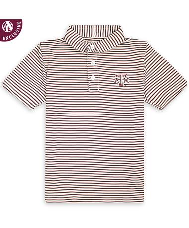 Texas A&M Toddler Performance Polo