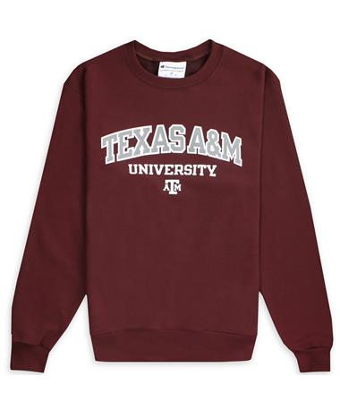 Texas A&M Champion PowerBlend Crew Neck