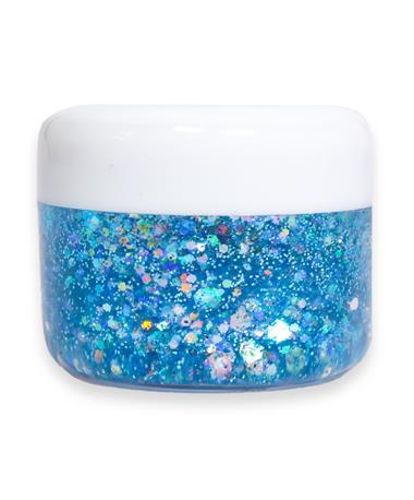 Aqua Blue Cosmetic Glitter Gel AQUA BLUE