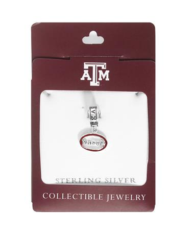 Texas A&M Whoop Dangle Bead - In Packaging MULTI