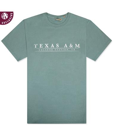 Texas A&M Basic Bar Coastal T-Shirt