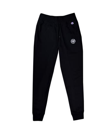 Texas A&M Champion Men`s Reverse Weave Joggers - Front Black