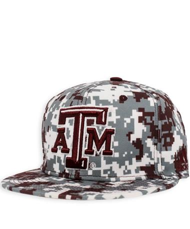 Texas A&M Adidas Digital Camo Baseball Cap