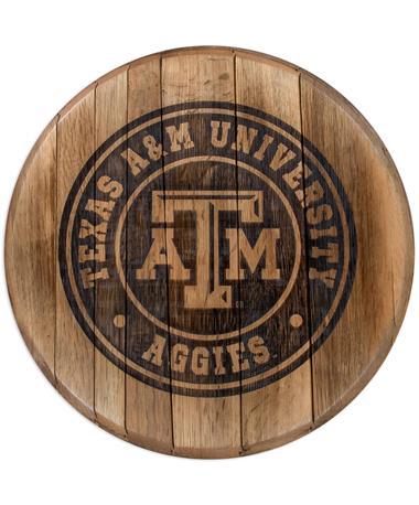 Texas A&M Barrelhead Sign