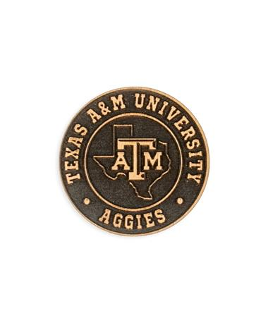 Texas A&M Lone Star Wood Magnet