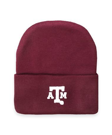 Texas A&M Newborn Maroon Knit Cap