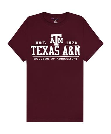 Texas A&M Champion College of Agriculture T-Shirt