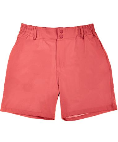 BURLEBO Earth Red Rainbow Pocket Shorts - Front Earth Red