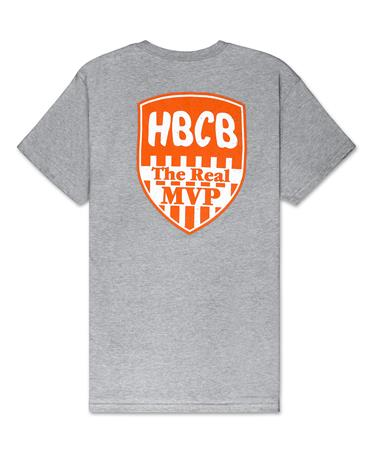 BURLEBO HBCB Tied To Tex T-Shirt - Back Light Grey