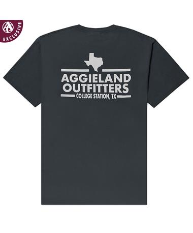 Aggieland Outfitters NSC 2019 T-Shirt - Jet Black - Back JET BLACK AH