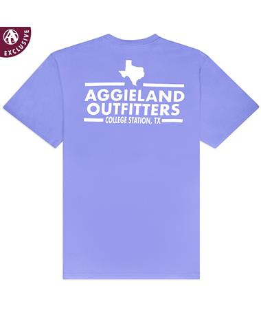 Aggieland Outfitters NSC 2019 T-Shirt - Lavender - Back LAVENDER AH