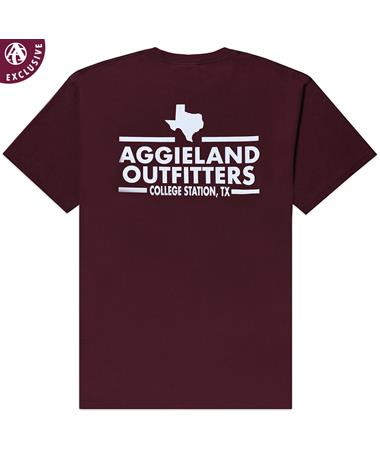 Aggieland Outfitters NSC 2019 T-Shirt - Maroon - Back MAROON AH