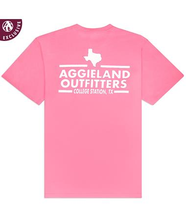 Aggieland Outfitters NSC 2019 T-Shirt - Poppy - Back POPPY AH