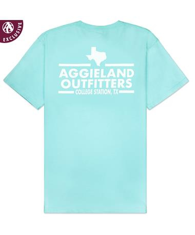 Aggieland Outfitters NSC 2019 T-Shirt - Seaglass - Back SEAGLASS AH