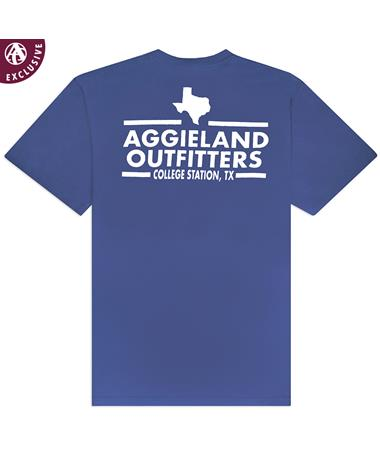 Aggieland Outfitters NSC 2019 T-Shirt - Storm Blue - Back STORM BLUE AH