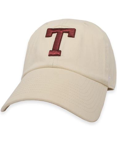 Texas A&M `47 Brand Block T Clean Up Cap Natural