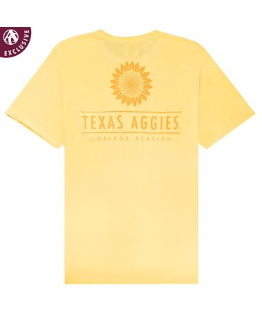 Texas A&M Aggies Sunflower Pocket T-Shirt