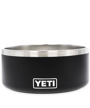 Yeti Black Boomer 8 Dog Bowl