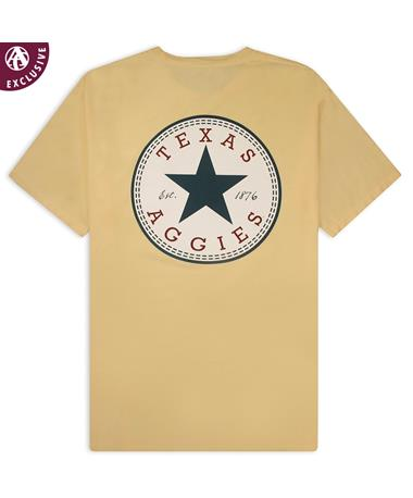 Texas A&M Aggies All Star T-Shirt - Back GDH150 Summer Squash