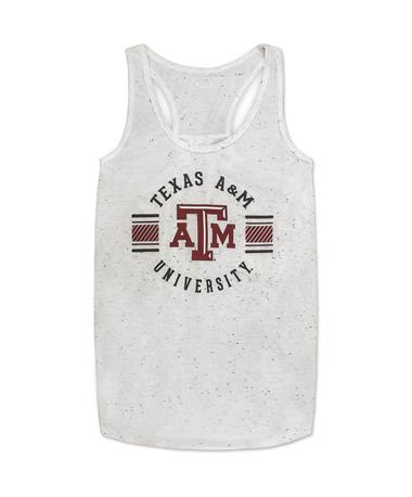 Texas A&M Velocity Tank - Front OATMEAL