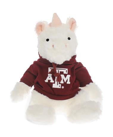 Texas A&M Unicorn Cuddle Buddy Plush