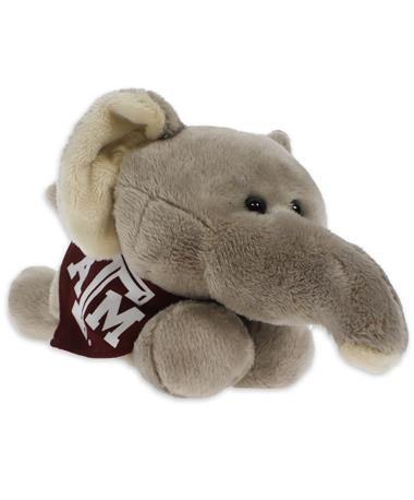 Texas A&M Short Stack Plush Elephant - Angled Multi