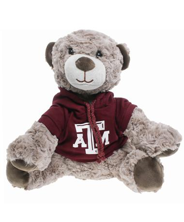 Texas A&M Hoodie Wilson Bear - Front Multi