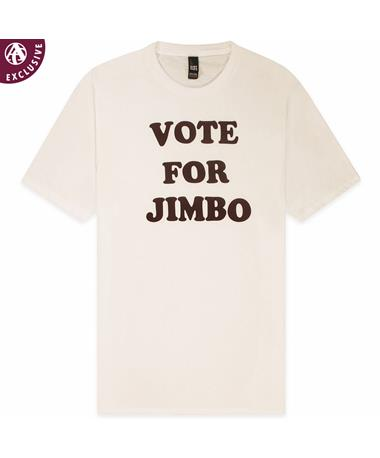 Texas A&M Dynamite Vote For Jimbo T-Shirt - Front White
