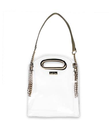 Packed Party The Cooper Gold Stadium Crossbody Bag
