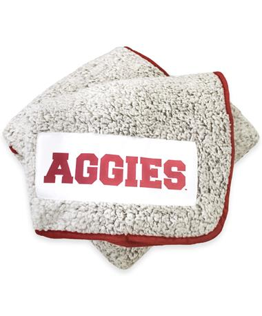 Texas A&M Frosty Fleece Throw Blanket