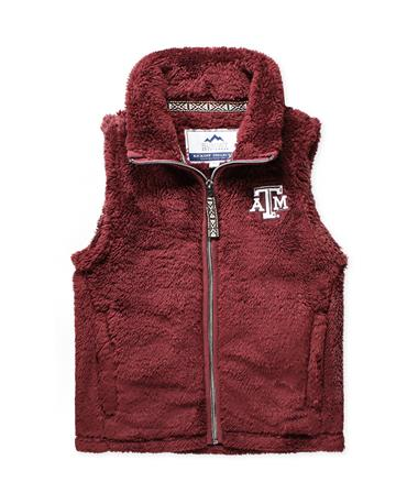 Texas A&M Youth Double Plush Vest