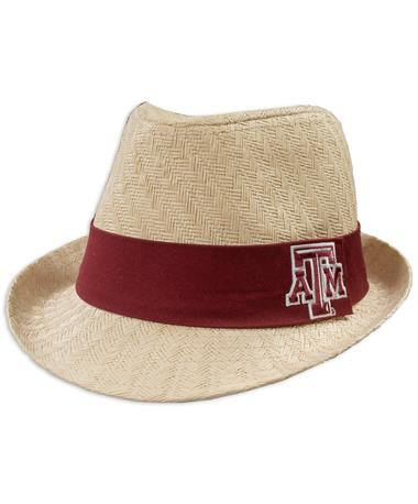 Texas A&M Atlanta Straw Fedora