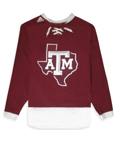Texas A&M Adidas Sport Fusion Hockey Jersey MAROON