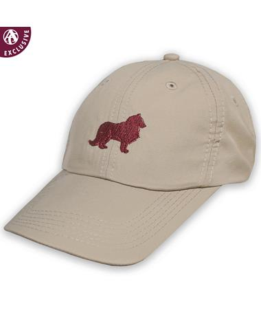 Texas A&M Maroon Collie Hat