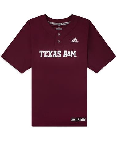 Texas A&M Adidas Diamond King Elite 2-Button Jersey