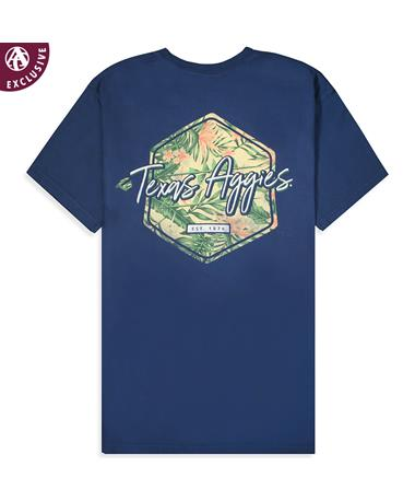 Texas A&M Aggies Hawaiian T-Shirt