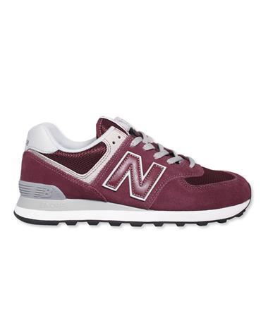 Maroon New Balance Men`s Tennis Shoes - Single - Side Maroon