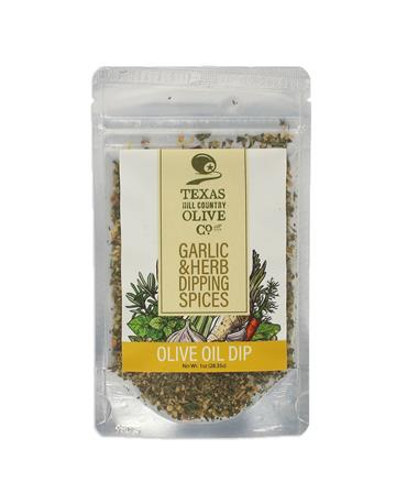 Texas Hill Country Garlic Herb Olive Oil Dip - Front Multi