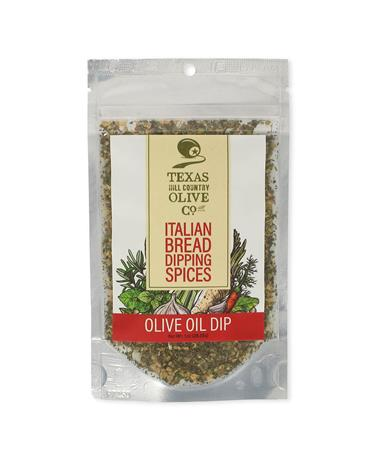 Texas Hill Country Italian Bread Olive Oil Dip - Front Multi