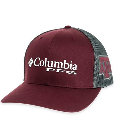 Texas A&M Columbia PFG Mesh Back Cap